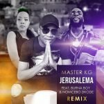 Master KG Jerusalema Remix Artwork
