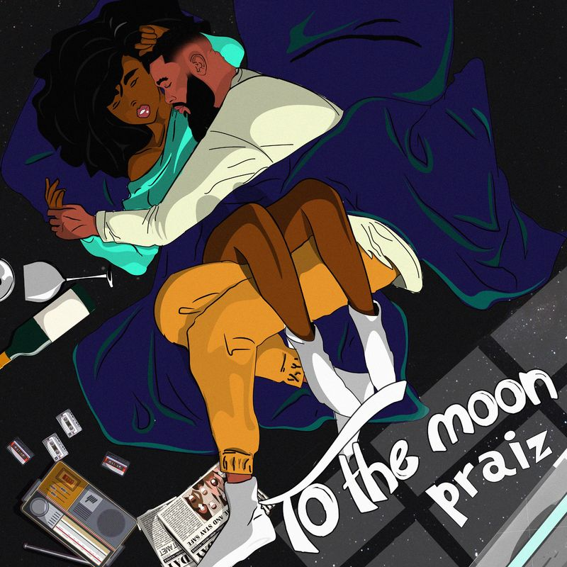 Praiz To The Moon ft Kingxn artcover