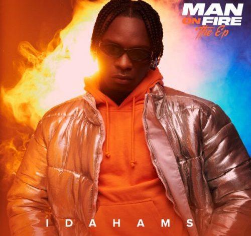 album idahams man on fire ep artwork