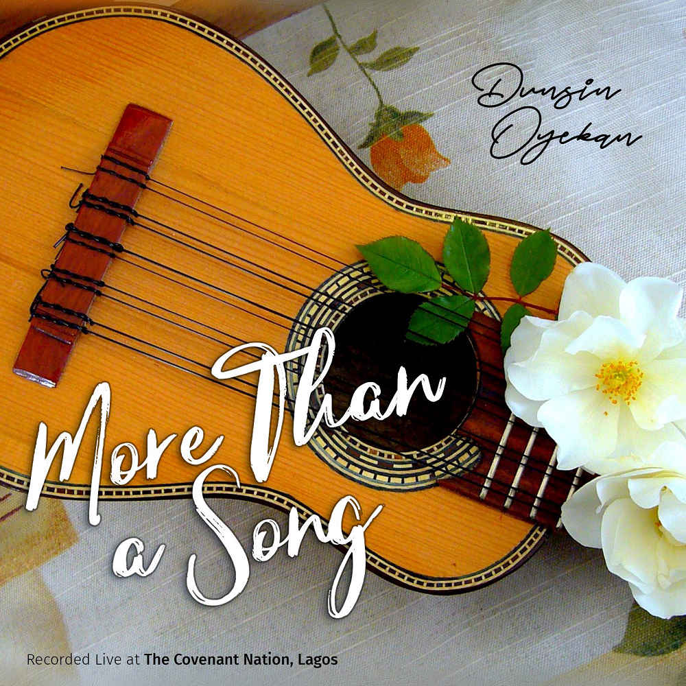 Dunsin Oyekan More Than A Song artcover