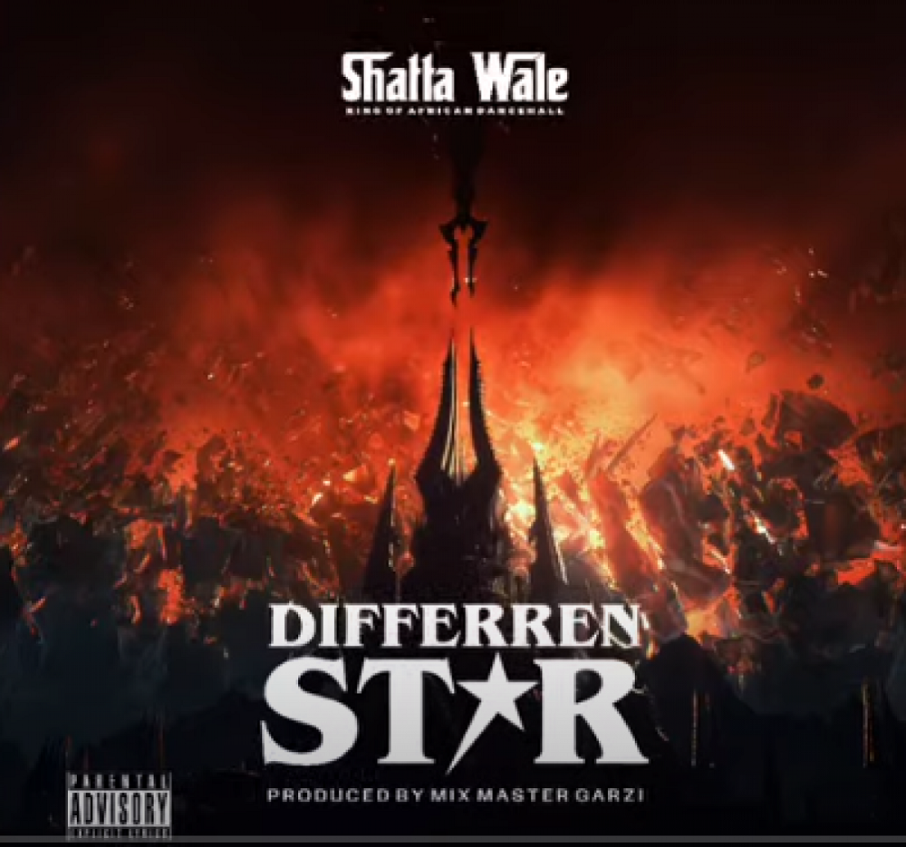 Shatta Wale Different Star artcover