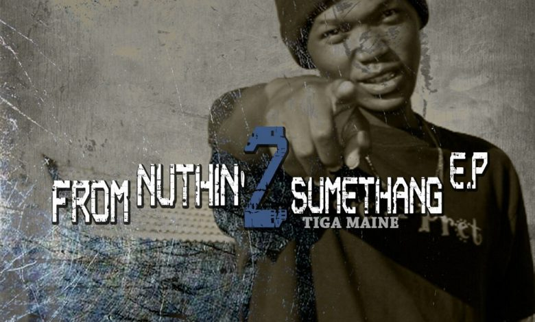 Tiga Maine from nuthin 2 sumethang EP artcover