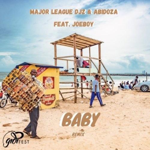 Major League Baby Amapiano Remix artwork