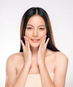 beautiful young asian woman with clean fresh skin 65293 555