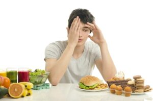 excessive food intake