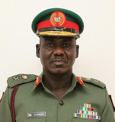 COAS Lt General Tukur Buratai