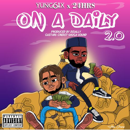 Yung6ix X 24Hrs On A Daily 20