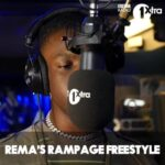 Rema Rampage freestyle